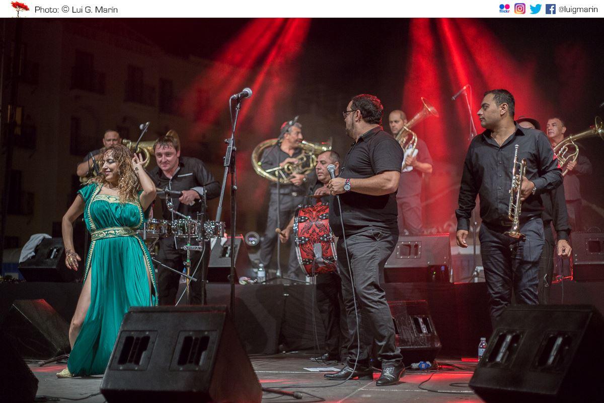 Música de los Balcanes en el Festival de las Tres Culturas de Frigiliana