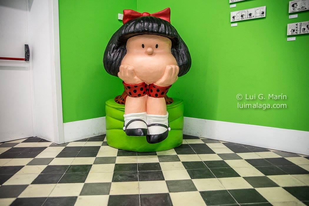 Mafalda cumple 50 años en la Térmica