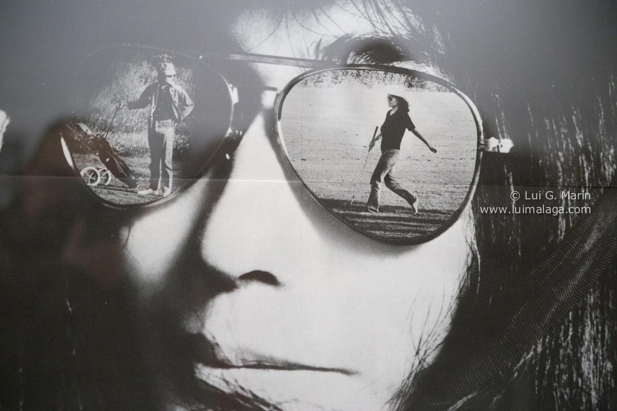 John Lennon y Yoko Ono en la Térmica
