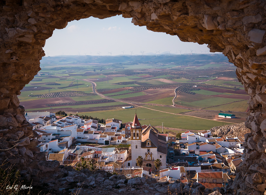 Imágenes desde el castillo de Teba