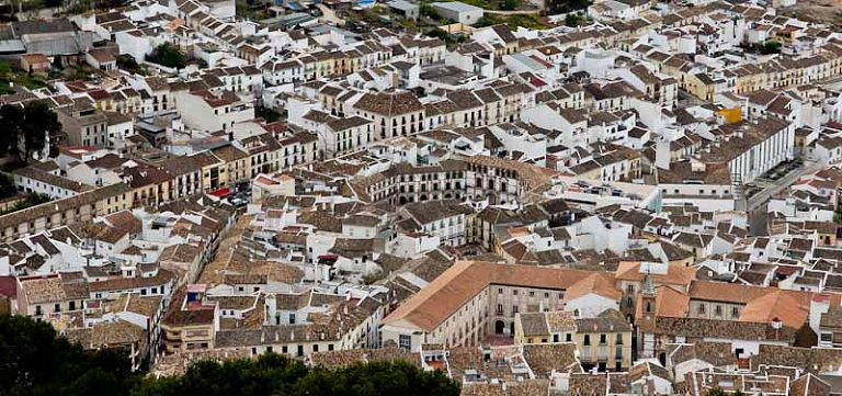 Archidona y su plaza ochavada en 360 grados