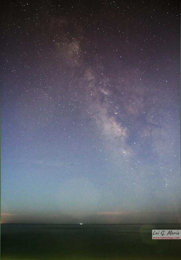 Fotografiando la Vía Láctea